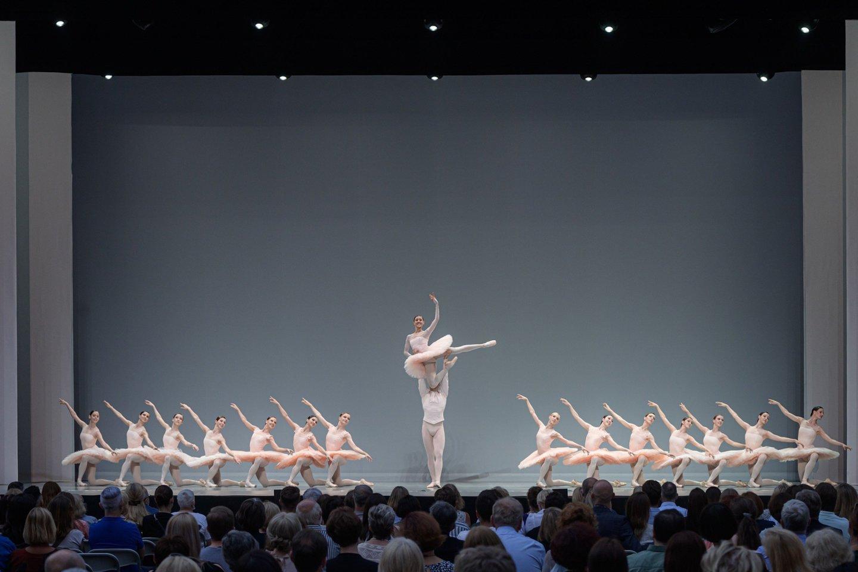 """Scena iš baleto""""Paquita"""".<br>M.Aleksos nuotr."""