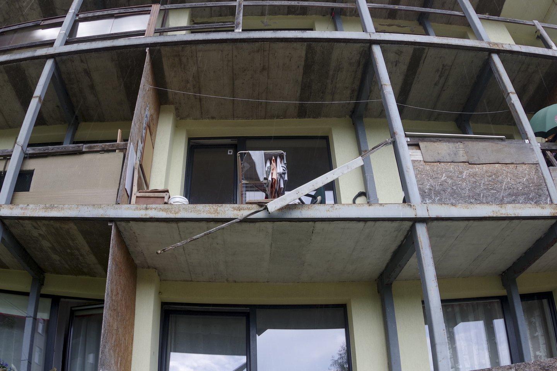Namas Laisvės pr.45a.<br>V.Ščiavinsko nuotr.