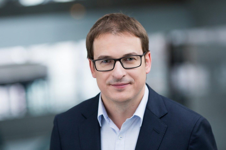 """""""Swedbank"""" Verslo klientų tarnybos vadovas Antanas Sagatauskas."""