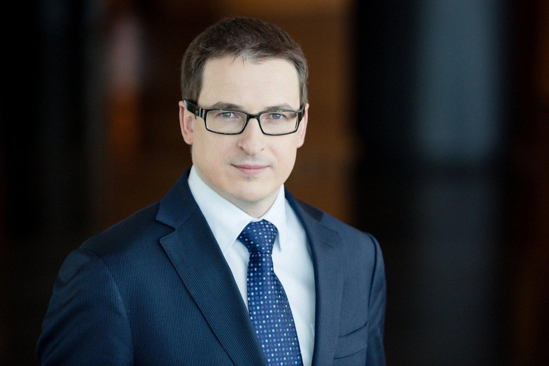 """""""Swedbank"""" Verslo klientų tarnybos vadovas Antanas Sagatauskas.<br>lrytas.lt nuotr."""