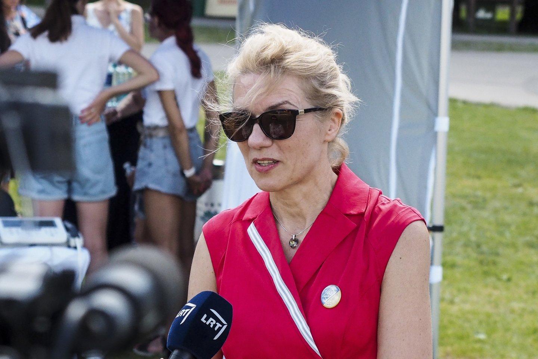 """NVI vadovė Sonata Jarmalaitė<br>Renginio """"Švęsk sveikatą"""" organizatorių nuotr."""