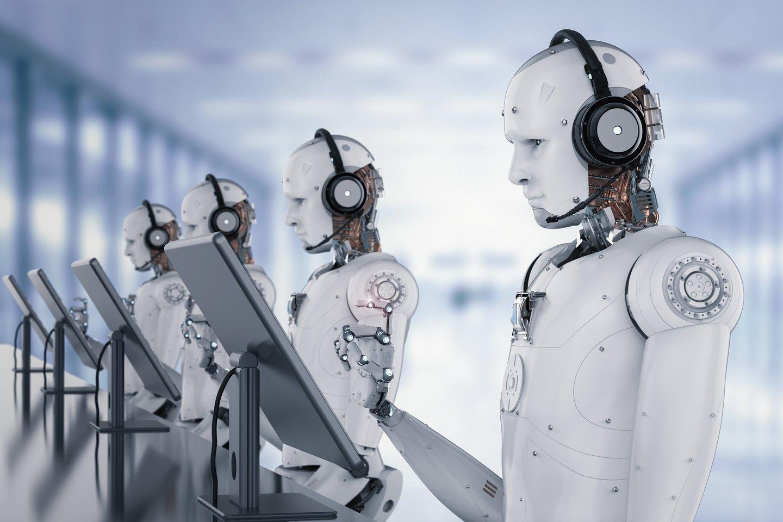 Beveik du trečdaliai Lietuvos gyventojų savo darbovietėse jaučiasi saugiai ir nesibaimina darbo prarasti dėl robotizacijos.<br>123rf nuotr.