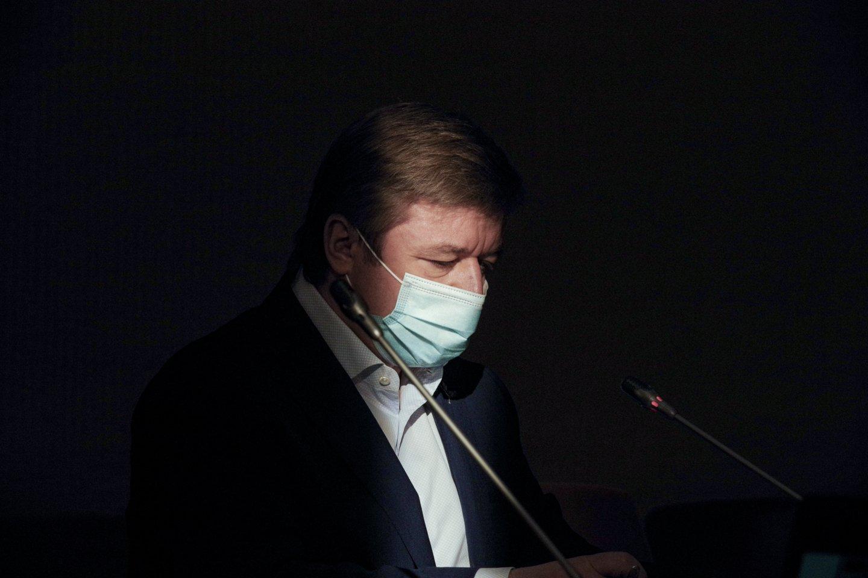 Ramūnas Karbauskis.<br>V.Ščiavinsko nuotr.