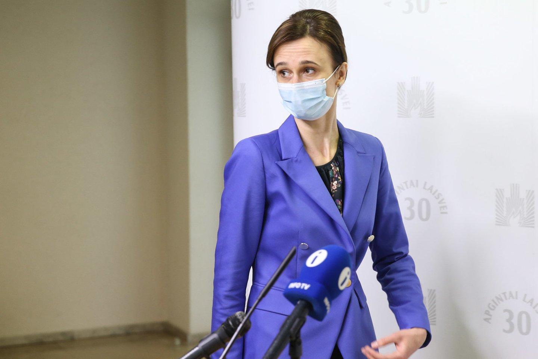 Viktorija Čmilytė-Nielsen<br>R.Danisevičiaus nuotr.