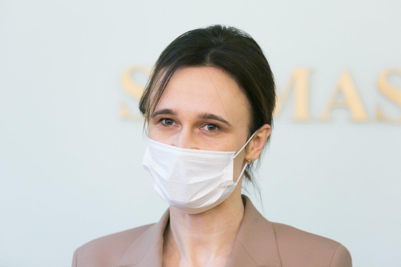 Viktorija Čmilytė-Nielsen ir<br>T.Bauro nuotr.