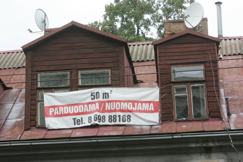 Birželio mėnesį Vilniuje susitarta dėl 391 buto pardavimo (402 nauji susitarimai, 11 atšaukimų).<br>A.Barzdžiaus nuotr.