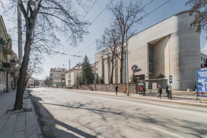 VšĮ Centro poliklinikos diagnostikos centro priestato Pylimo g. 3, Vilniuje, tarptautinės vertės atviro architektūrinio projekto konkursui pateikti 6 projektiniai pasiūlymai.<br>Dariaus Linarto nuotr.