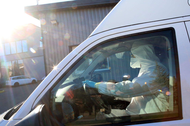 Dirbdamas Didžiojoje Britanijoje vyras užsikrėtė pavojinguoju virusu, bet ten nesigydė – parskrido į gimtinę.<br>M.Patašiaus nuotr.