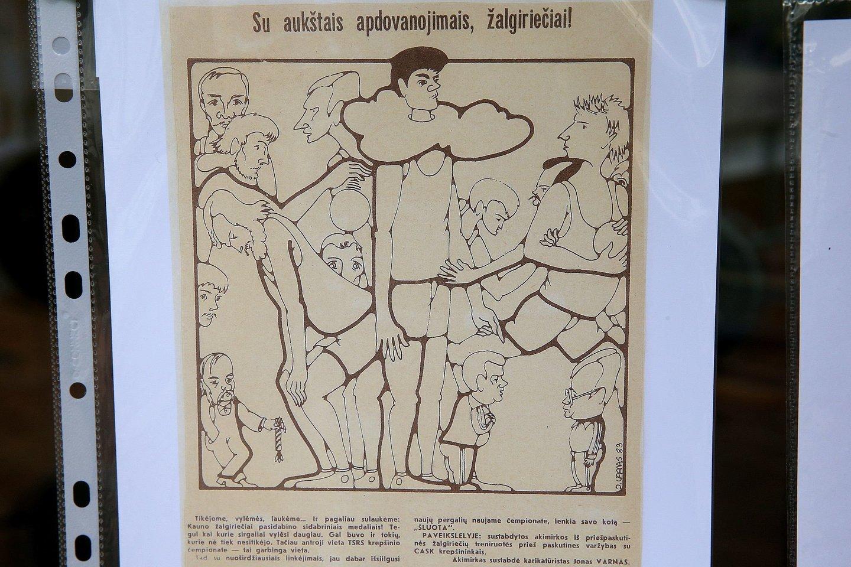 Jono Varno jubiliejinės parodos atidarymas.<br>R.Danisevičiaus nuotr.