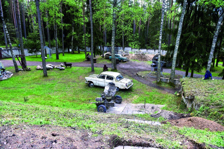 S.Misevičius nuo vaikystės domisi technika, ypač senais automobiliais.<br>V.Ščiavinsko nuotr.