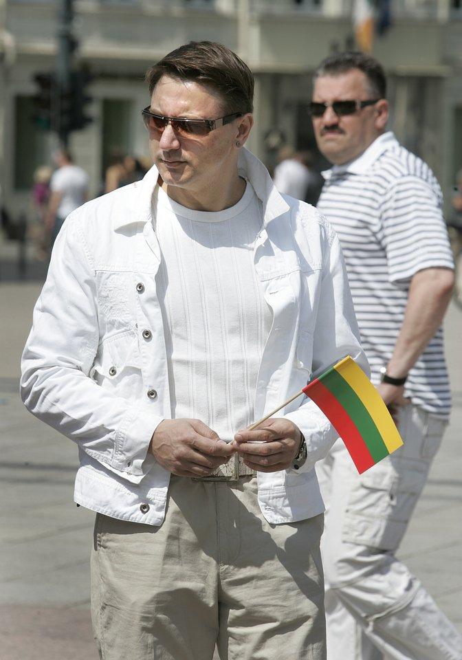 Žurnalistas Raigardas Musnickas.<br>V.Balkūno nuotr.