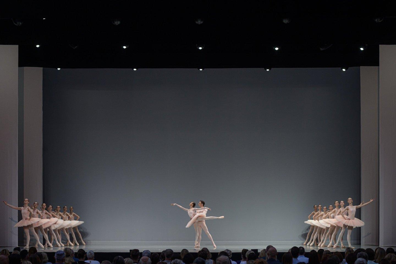"Vasaros festivalyje ""LNOBT Open"" parodyta ""Paquita"".<br>M.Aleksos nuotr."