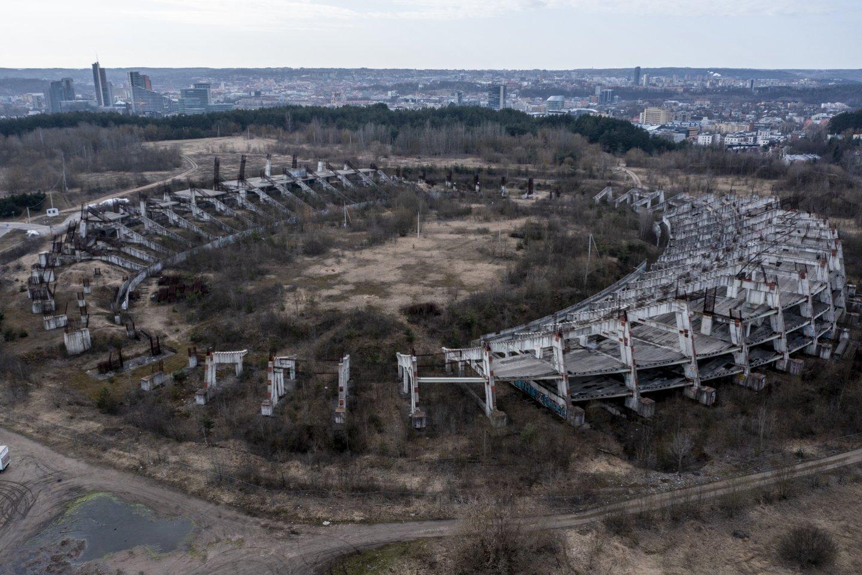 Bus vis dėlto statomas Nacionalinis stadionas.<br>V.Ščiavinsko nuotr.