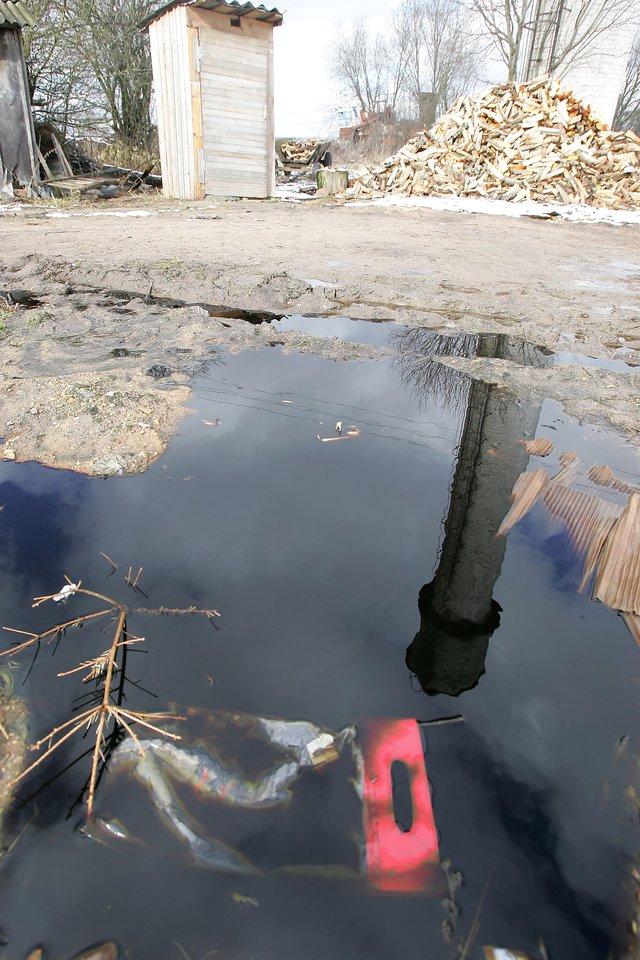 Vandentvarkininkai paveldėjo sovietmečiu statytas ir vandens talpyklas, ir nuotekų valyklas.<br>V.Balkūno nuotr.