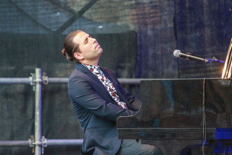 Pianistas ir kompozitorius Alfredo Rodriguezas.<br>G.Bitvinsko nuotr.