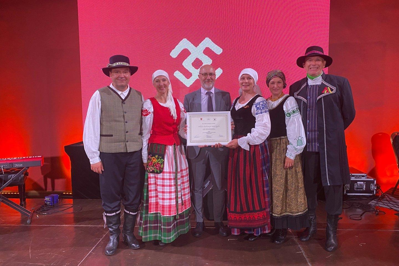 Neringiškių pastangos saugoti nematerialųjį kultūros paveldą pastebėtos ir įvertintos.<br>Neringos savivaldybės nuotr.