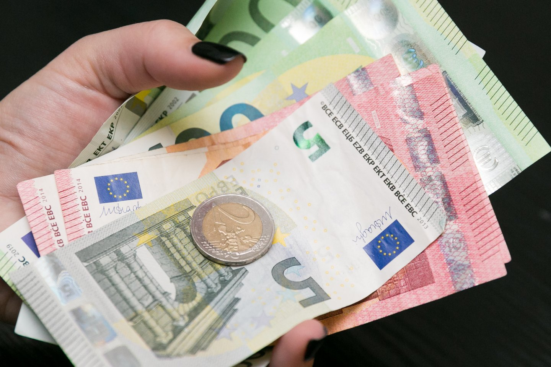 Perspėja dėl infliacijos.<br>T.Bauro nuotr.
