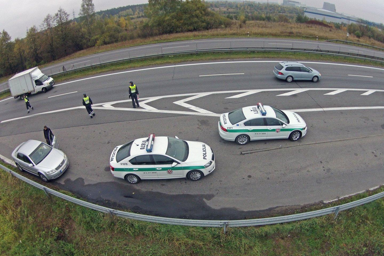Kauno policijos atstovai minėjo, kad vaizdo stebėjimo informacinė sistema padės užtikrinti operatyvų nusikalstamų veikų ištyrimą ir jų prevenciją.<br>A.Vaitkevičiaus nuotr.