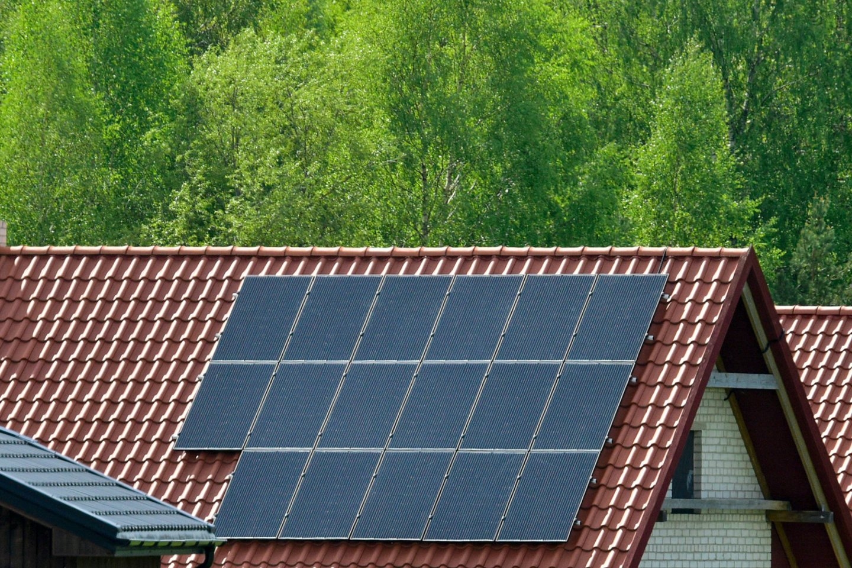 Įsidiegus saulės elektrinę įmonė sumažina elektros sąnaudas panaudojant iki šiol nenaudojamą įmonės patalpų stogą, o mažesnės sąnaudos palaipsniui leidžia atsipirkti pirminei investicijai.<br>V.Ščiavinsko asociatyvi nuotr.