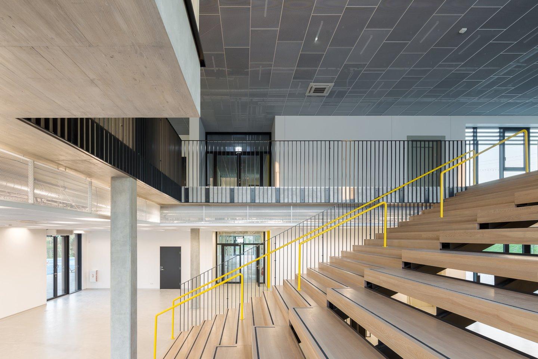 "Mokykla ir darželis Medeinos g. 14, Vilniuje. Autoriai – ""2L Architects"".<br>N. Tukaj nuotr."