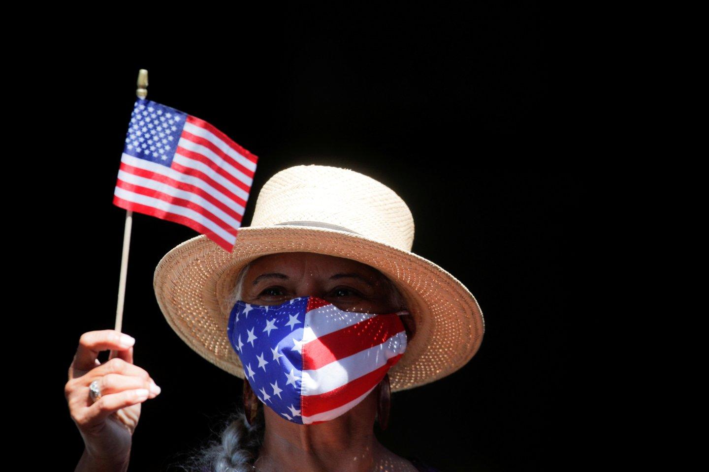 JAV paskelbė sankcijas 34 subjektams dėl ryšių su Kinija, Rusija ir Iranu.<br>Reuters/Scanpix nuotr.