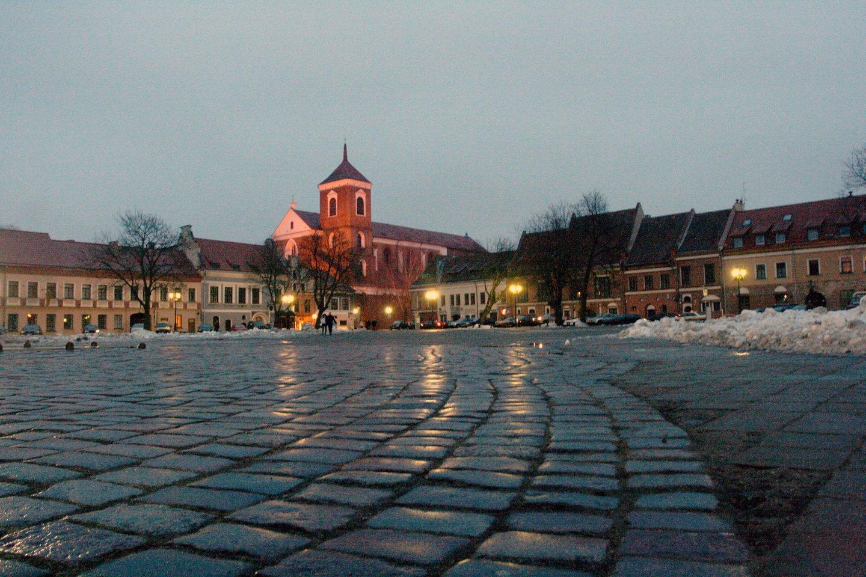 Vilniaus gatvės, kurioje vasarą paprastai verda gyvenimas, atnaujinimas prasidės liepos 12 dieną, o darbai truks iki kitų metų vasaros.<br>M.Patašiaus nuotr.