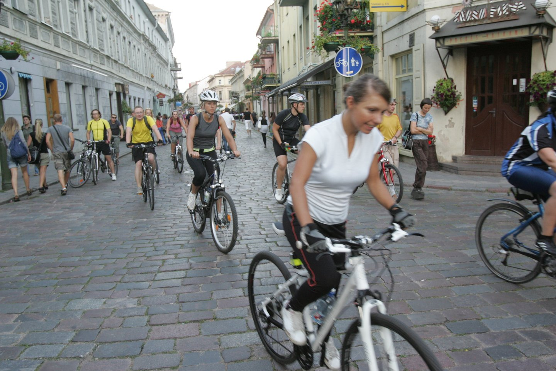 Vilniaus gatvės, kurioje vasarą paprastai verda gyvenimas, atnaujinimas prasidės liepos 12 dieną, o darbai truks iki kitų metų vasaros.<br>A.Barzdžiaus nuotr.