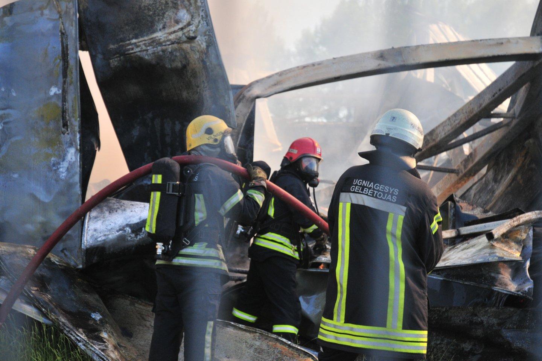 2021 metų sausio – birželio mėnesiais gaisruose žuvo 55 žmonės.<br>A.Vaitkevičiaus asociatyvi nuotr.