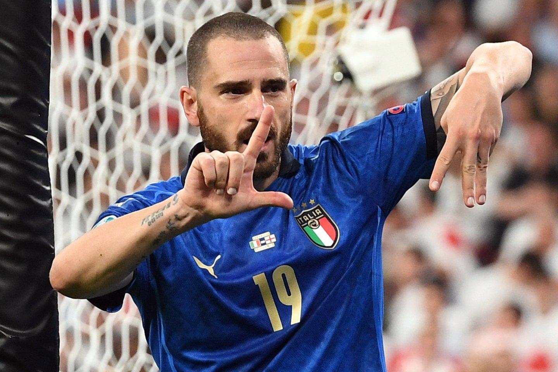 Anglijos ir Italijos rungtynių akimirka.<br>Reuters/Scanpix nuotr.
