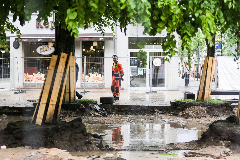 """Nekilnojamojo turto bumui tęsiantis ir stebint naujai kylančius nekilnojamojo turto projektus, didžiausia vandentvarkos bendrovė Lietuvoje """"Vilniaus vandenys"""" akcentuoja pasigendantys didesnės statytojų atsakomybės visuomenei bei gamtai.<br>G.Bitvinsko nuotr."""