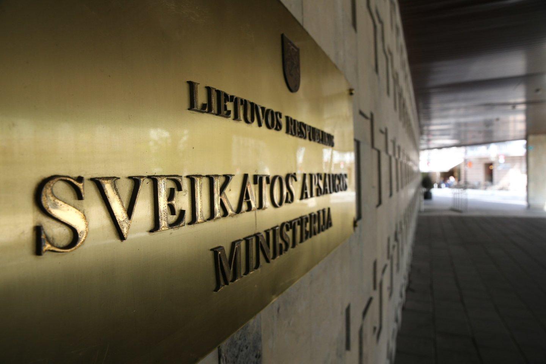 SAM atšaukia R.Mažeiką iš Respublikinės Šiaulių ligoninės direktoriaus pareigų.<br>R.Danisevičiaus nuotr.