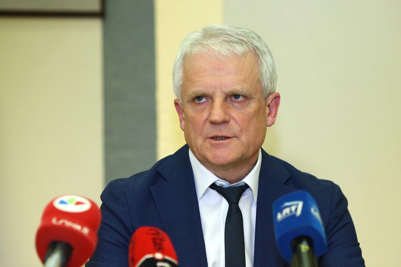 SAM atšaukia R.Mažeiką iš Respublikinės Šiaulių ligoninės direktoriaus pareigų.<br>G.Šiupario nuotr.