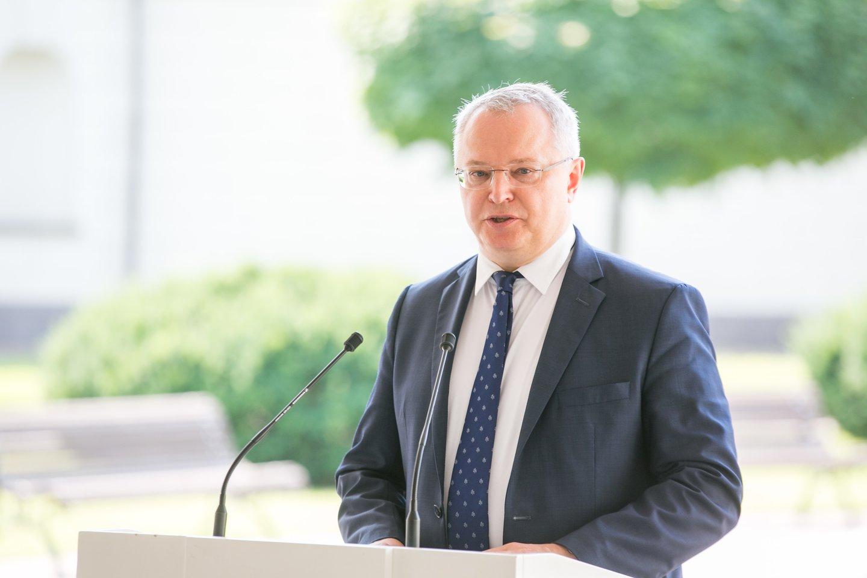 Pirmadienį vyko Valstybės gynimo tarybos posėdis.<br>T.Bauro nuotr.