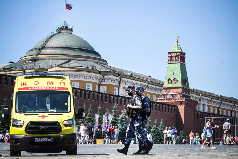 ES pratęsė ekonomines sankcijas Rusijai.<br>AFP/Scanpix nuotr.