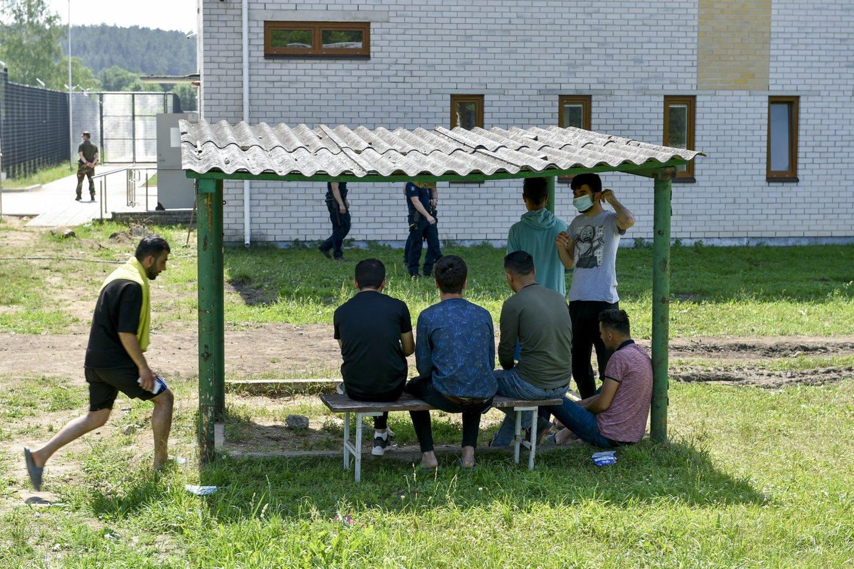 Dar prieš mėnesį apie migrantų krizę nebuvo jokios šnekos.<br>V.Ščiavinsko nuotr.