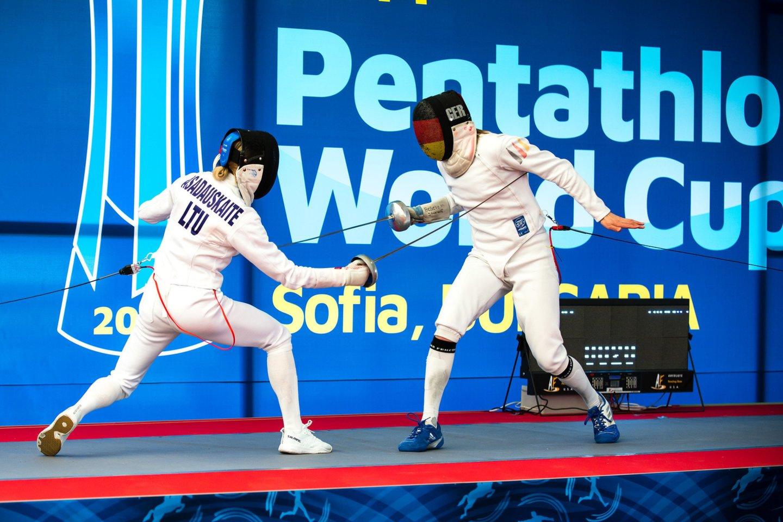 L.Asadauskaitei treniruotės metu skilo šonkaulis.<br>UIPM World Pentathlon / Vir