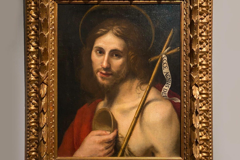 L.Lippi (1606–1665 m.). Šventasis Jonas Krikštytojas (aliejus, drobė).