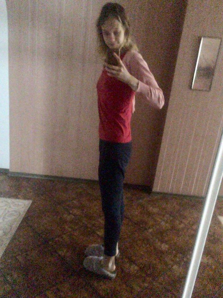 Ir sverdama 60 kg, Varvara jautėsi per stora.<br>Asmeninio archyvo nuotr.