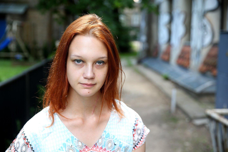Varvara neslepia turinti daug problemų ir supranta, kad dauguma jų – jos galvoje.<br>R.Danisevičiaus nuotr.