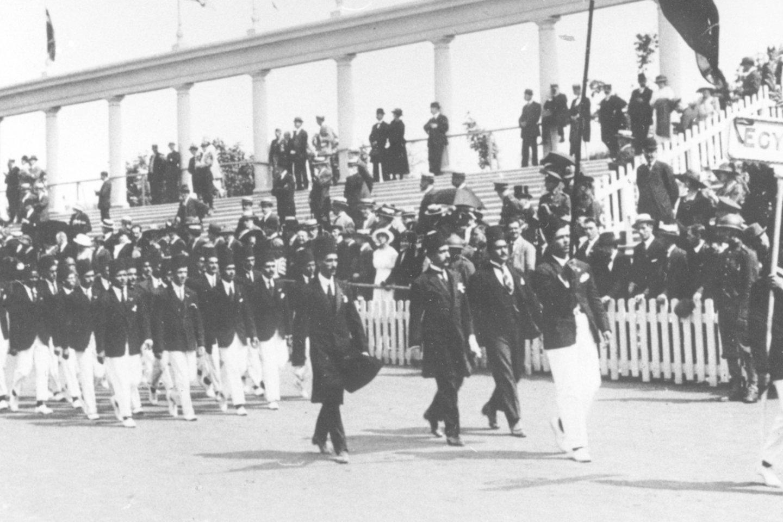 Prieš kiek daugiau nei šimtmetį 1920 metų rugpjūtį Belgijoje 2626 sportininkai iš 29 tautų atvyko varžytis vasaros olimpinėse žaidynėse.<br>Imago images/Scanpix nuotr.