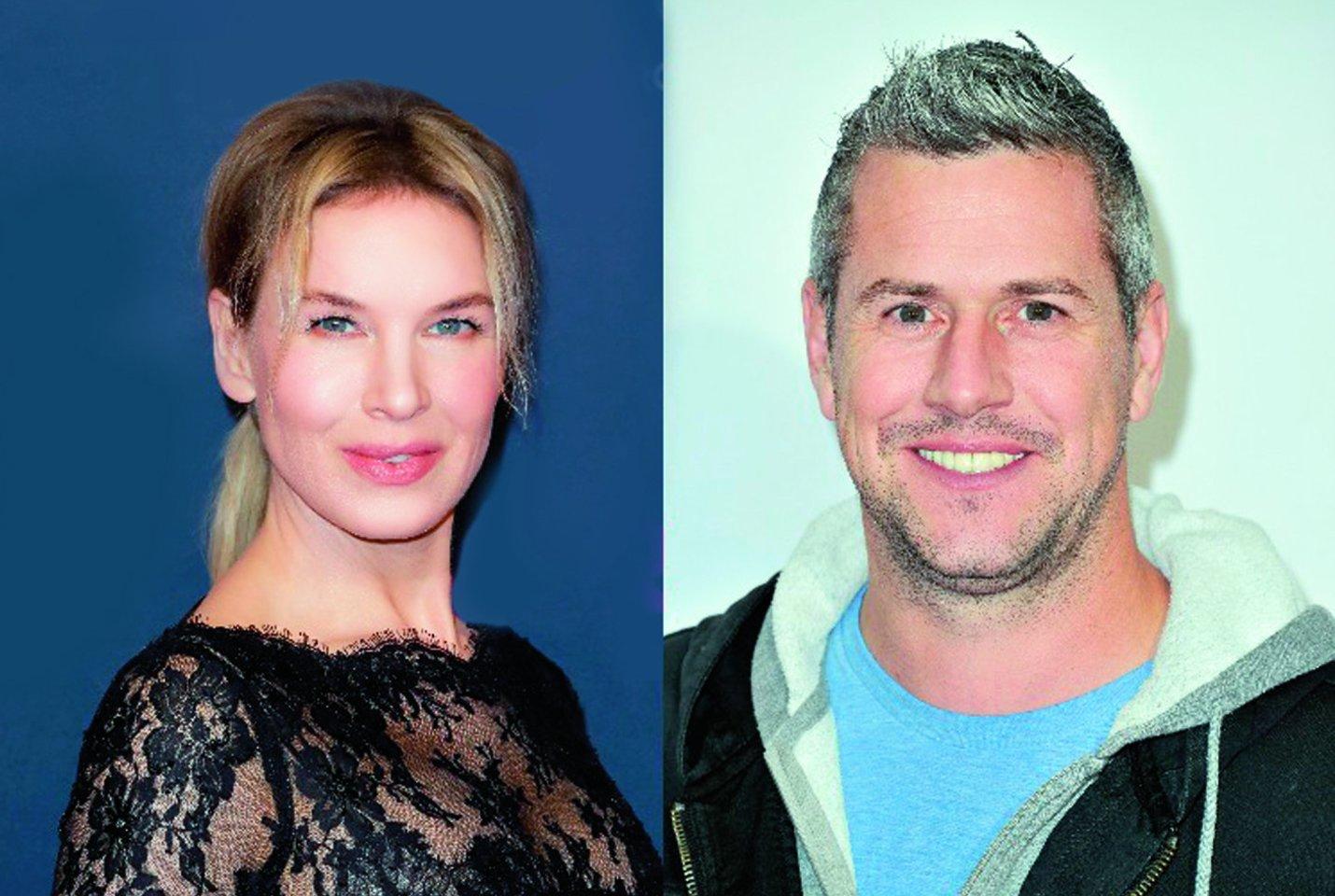 Aktorė R.Zellweger ir TV laidų vedėjas A.Ansteadas neabejingi vienas kitam.