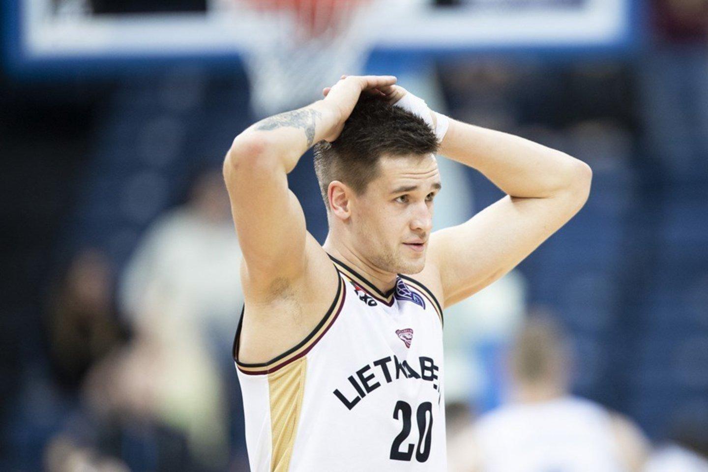 Margiris Normantas palieka Panevėžio klubą.<br>FIBA.com nuotr.