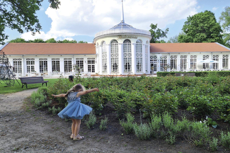 Dabartinė Raudondvario rūmų išvaizda – garsiųjų grafų Tiškevičių nuopelnas<br>Asmeninio albumo nuotr.