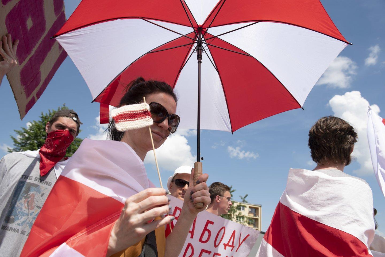 Bankai atidžiai vertins visus mokėjimus, susijusius su ribojamais Baltarusijos sektoriais.<br>ZUMA Press/Scanpix nuotr.