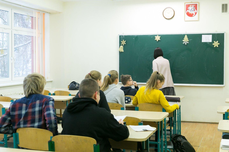 Nors šalies aukštosios mokyklospripažįsta, kad būsimųjų pedagogų skaičius vis dar nedžiugina, panašu, jogsusidomėjimas mokytojo specialybe po truputį auga.<br>T.Bauro asociatyvi nuotr.
