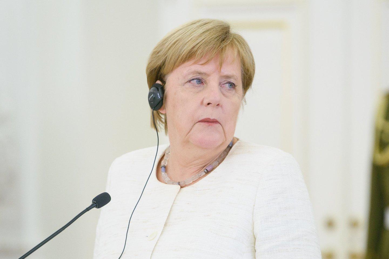 Dalia grybauskaitė, prezidentė, susitiko su, Angela Merkel, ir Latvijos Estijos premierais<br>J.Stacevičiaus nuotr.