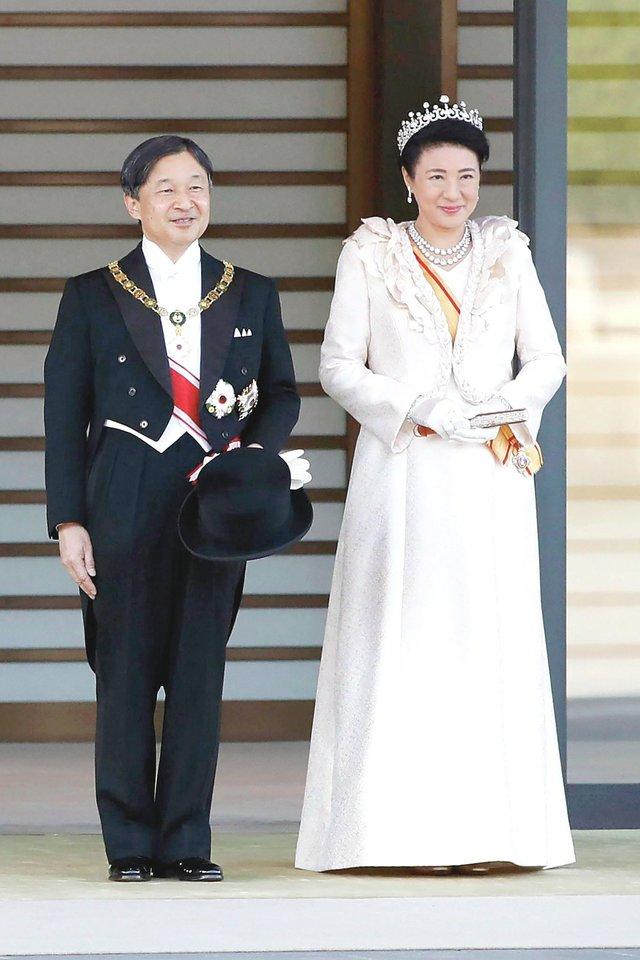 """Japonijos princesė Mako ir K.Komuro susižadėjo dar 2017-aisiais, bet jųdviejų vestuvės vis atidedamos.<br>AP/""""Scanpix"""" nuotr."""