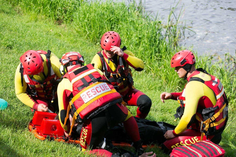 Dubysoje netoli Kelmės nuskendo dvi moterys.<br>T.Bauro asociatyvi nuotr.