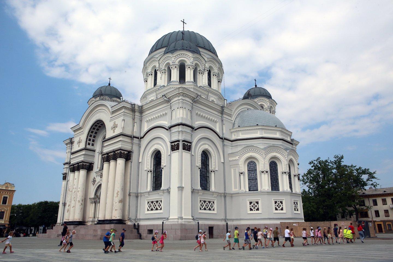 Bažnyčios rekonstrukcija nutrūko tuo metu, kai didžioji dalis darbų buvo atlikta.<br>M.Patašiaus nuotr.
