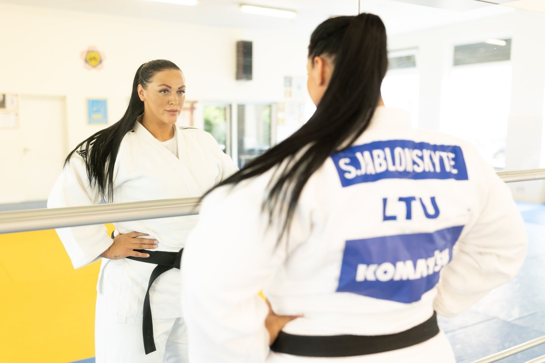 Sandra Jablonskytė<br>judo.lt nuotr.